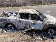 bí thư xã dựng hiện trường giả giết người đốt xác phi tang bằng xe bán tải