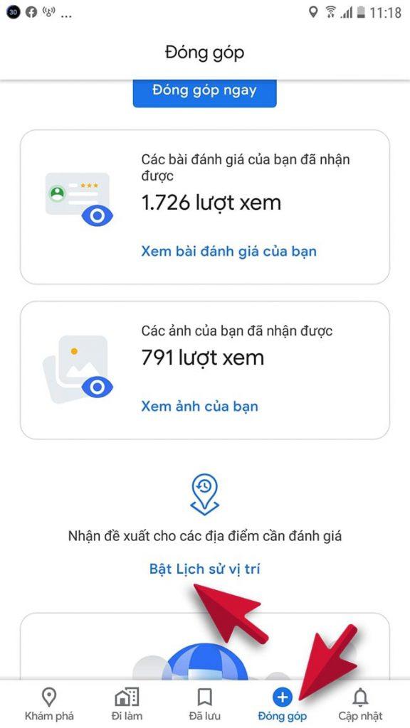 cách theo dõi qua gmail và google Map