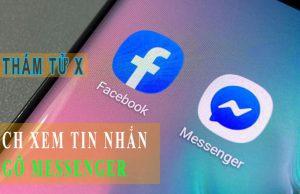 cách xem tin nhắn người khác đã gỡ trên Messenger trên PC máy tính